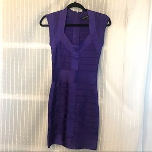 Electric Purple 💜 Bandage Cocktail Dress